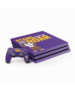 Stand Right Up And Roar LSU Tigers PS4 Pro Bundle Skin