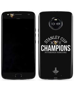 Stanley Cup Champions Pittsburgh Penguins Moto X4 Skin