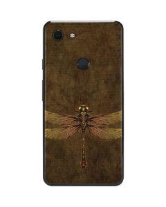 Steampunk & Gear Dragonfly Google Pixel 3 XL Skin
