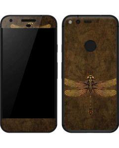 Steampunk & Gear Dragonfly Google Pixel Skin
