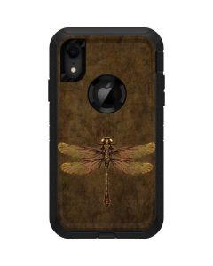 Steampunk & Gear Dragonfly Otterbox Defender iPhone Skin