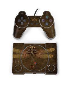 Steampunk & Gear Dragonfly PlayStation Classic Bundle Skin