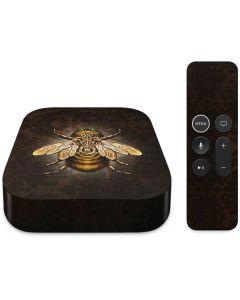 Steampunk Bee Apple TV Skin