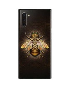 Steampunk Bee Galaxy Note 10 Skin