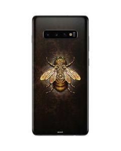 Steampunk Bee Galaxy S10 Plus Skin