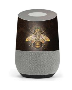 Steampunk Bee Google Home Skin