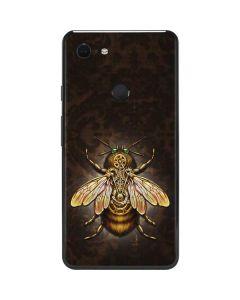 Steampunk Bee Google Pixel 3 XL Skin