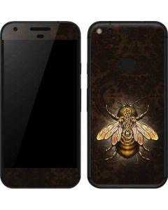 Steampunk Bee Google Pixel Skin