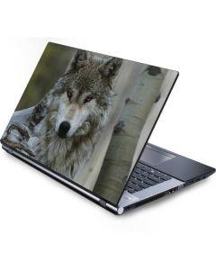 Stoic Gray Wolf Generic Laptop Skin