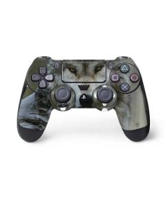 Stoic Gray Wolf PS4 Controller Skin