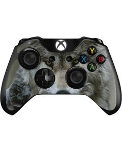 Stoic Gray Wolf Xbox One Controller Skin