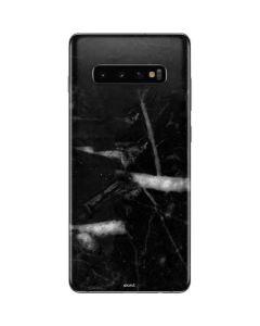 Stone Black Galaxy S10 Plus Skin