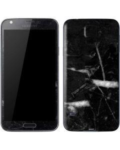 Stone Black Galaxy S5 Skin