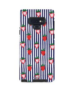 Strawberries and Stripes Galaxy Note 9 Pro Case