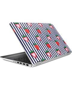 Strawberries and Stripes HP Pavilion Skin