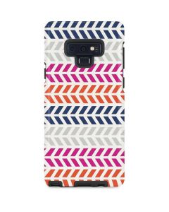 Striped Chevron Galaxy Note 9 Pro Case