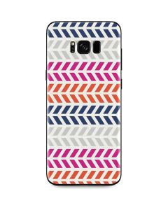 Striped Chevron Galaxy S8 Plus Skin