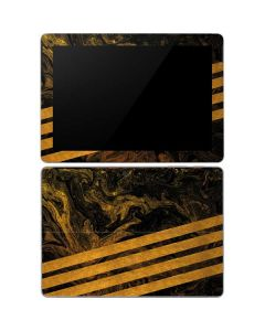 Striped Marble Surface Go Skin