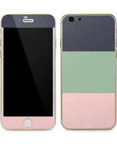 Striped Spring Colors iPhone 6/6s Skin