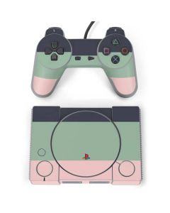Striped Spring Colors PlayStation Classic Bundle Skin