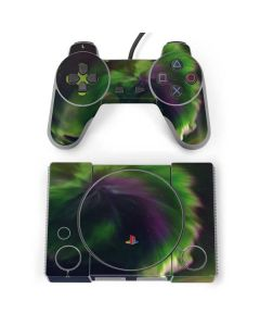 Stunning Northern Lights PlayStation Classic Bundle Skin