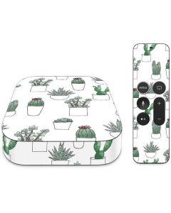 Succulent Pattern Apple TV Skin