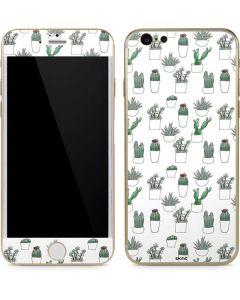 Succulent Pattern iPhone 6/6s Skin