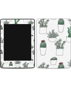 Succulent Pattern Amazon Kindle Skin