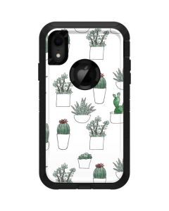 Succulent Pattern Otterbox Defender iPhone Skin