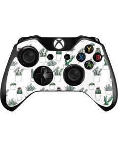 Succulent Pattern Xbox One Controller Skin