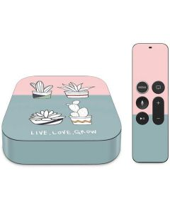 Succulent Sketch Apple TV Skin
