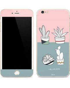 Succulent Sketch iPhone 6/6s Plus Skin