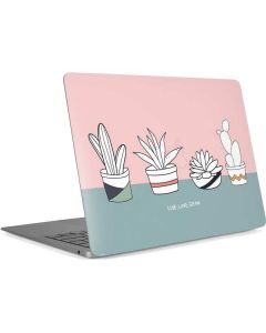 Succulent Sketch Apple MacBook Air Skin