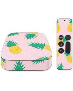 Summer Pineapples Apple TV Skin