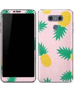 Summer Pineapples LG G6 Skin