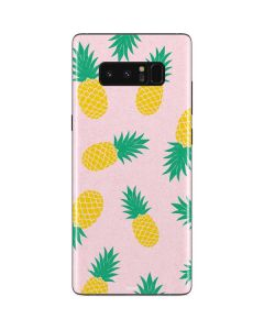 Summer Pineapples Galaxy Note 8 Skin