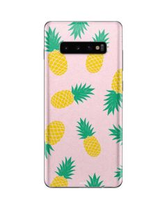Summer Pineapples Galaxy S10 Plus Skin