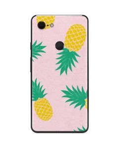 Summer Pineapples Google Pixel 3 XL Skin