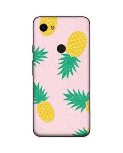 Summer Pineapples Google Pixel 3a Skin
