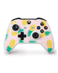 Summer Pineapples Xbox One S Controller Skin