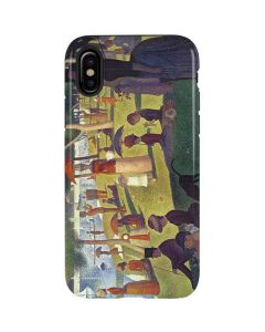 Sunday Afternoon on the Island of La Grande Jatte iPhone X Pro Case