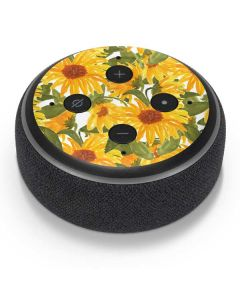 Sunflowers Amazon Echo Dot Skin
