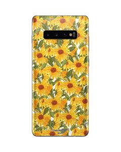 Sunflowers Galaxy S10 Plus Skin