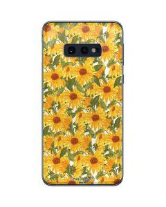 Sunflowers Galaxy S10e Skin