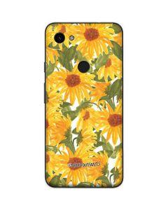 Sunflowers Google Pixel 3a Skin