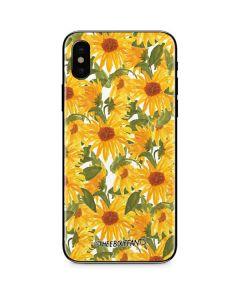 Sunflowers iPhone X Skin