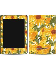 Sunflowers Amazon Kindle Skin