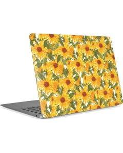 Sunflowers Apple MacBook Air Skin