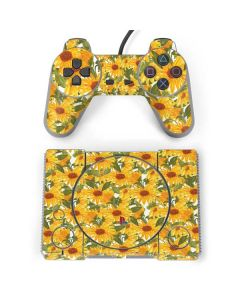 Sunflowers PlayStation Classic Bundle Skin