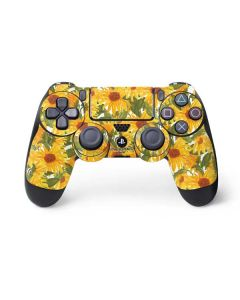 Sunflowers PS4 Controller Skin
